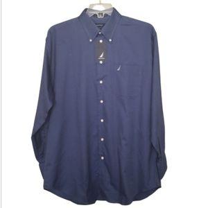 Nautica Vintage Oxford Shirt NWT Size 16 1/2